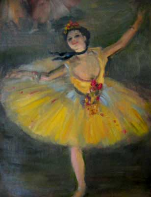 Favourites painting a world of my own for Ballerine disegnate